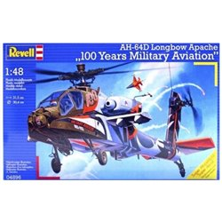 "Revell 04896 1/48 AH-64D Longbow Apache ""100 Years Military Aviation"""