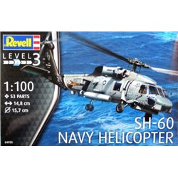 Revell 04955 1/100 SH-60 Navy Helicopter