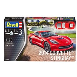 Revell 07060 1/25 2014 Corvette Stingray