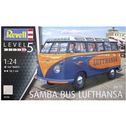 "Revell 07436 1/24 VW T1 Samba Bus ""Lufthansa"""
