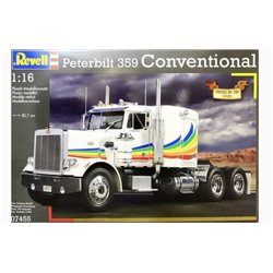 REVELL 07455 1/16 Peterbilt 359 Conventional Truck of the 1980s