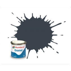HUMBROL Peinture Enamel 32 DARK GREY 14ml MATT