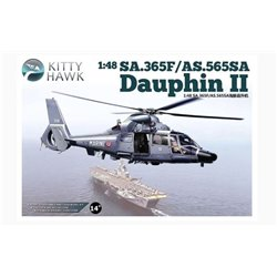 Kitty Hawk KH80108 1/48 SA.365F Dauphin II