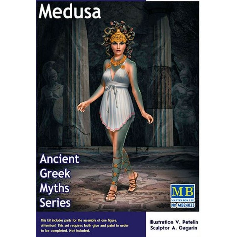 MasterBox MB24025 1//24 Ancient Greek Myths Series Medusa