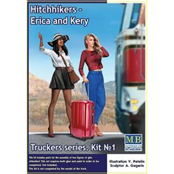 MasterBox MB24041 1/24 Truckers Series Erica and Kery