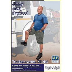 MasterBox MB24043 1/24 Truckers Series Jimmy Tex Heywood