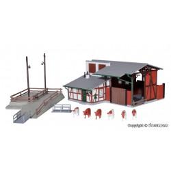 Faller 130607 HO 1/87 2 Maisons de village - 2 Village houses