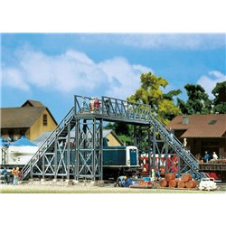 Faller 131361 HO 1/87 Passerelle pour piétons - Footbridge