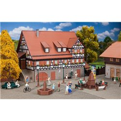 Faller 131373 HO 1/87 Place de village - Park accessories