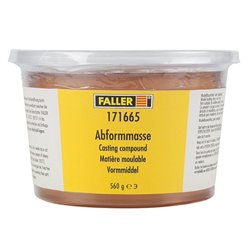 Faller 171665 Matière à moules - Mould compound, 560 g