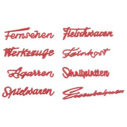 Faller 180962 HO 1/87 Lettrage de magasin Années 50 - 50s Shop's lettering