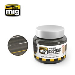 AMMO OF MIG A.MIG-2107 Asphalt Texture Ground 250ml