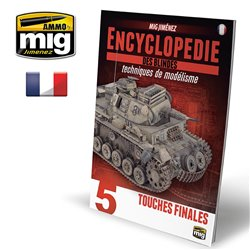 AMMO OF MIG A.MIG-6174 Encyclopedia Of Armour Modelling Tec Vol.5 Français