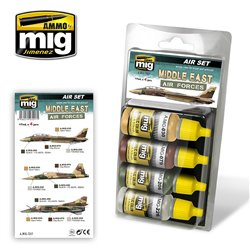 AMMO OF MIG A.MIG-7217 Middle East Air Forces 4x17ml