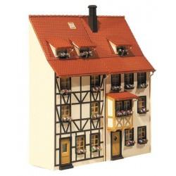 Preiser 10661 Figurines HO 1/87 3 voyageurs, un chariot et 3 rangées de siège