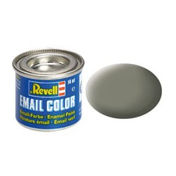 Revell 32145 Enamel RAL7003 Olive Clair – Light Olive Mat 14ml