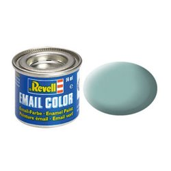 Revell 32149 Enamel Bleu Clair – Light Blue Mat 14ml
