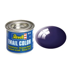 Revell 32154 Enamel RAL5022 Bleu Nuit – Night Blue Gloss 14ml