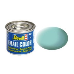 Revell 32155 Enamel RAL6027 Vert Clair – Light Green Mat 14ml