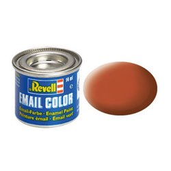 Revell 32185 Enamel RAL8023 Brun – Brown Mat 14ml