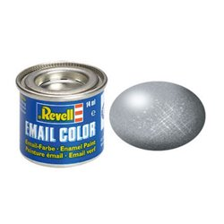 Revell 32191 Enamel Acire – Steel Metallic 14ml