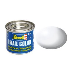 Revell 32301 Enamel RAL9010 Blenc – White Silk 14ml