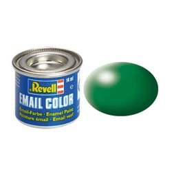 Revell 32364 Enamel RAL6001 Vert Feuille – Leaf Green Silk 14ml