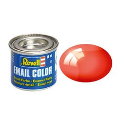 Revell 32731 Enamel Rouge – Red Clear 14ml