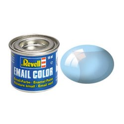 Revell 32752 Enamel Bleu – Blue Clear 14ml