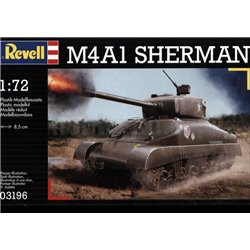 Revell 03196 1/72 M4A1 Sherman