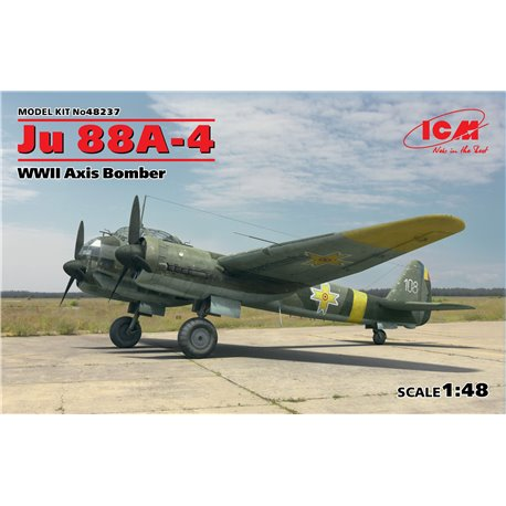 ICM 48237 1/48 Ju 88A-4 WWII Axis Bomber