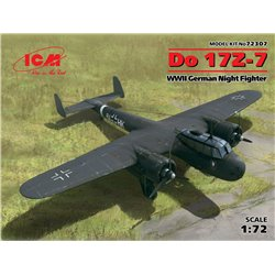 ICM 72307 1/72 DO 17Z-7 WWII German Fighter