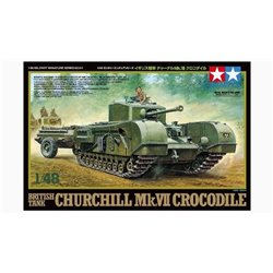 Tamiya 32594 1/48 British Tank Churchill Mk. VII Crocodile