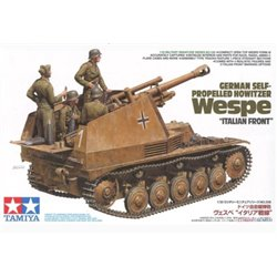 Tamiya 35358 1/35 German Self-Propelled Howitzer Wespe Italian Front