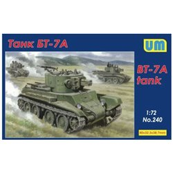 UNIMODELS 240 1/72 BT-7A Tank