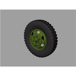 PANZER ART RE35-529 1/35 M35&M109 trucks Road wheels (Goodyear)