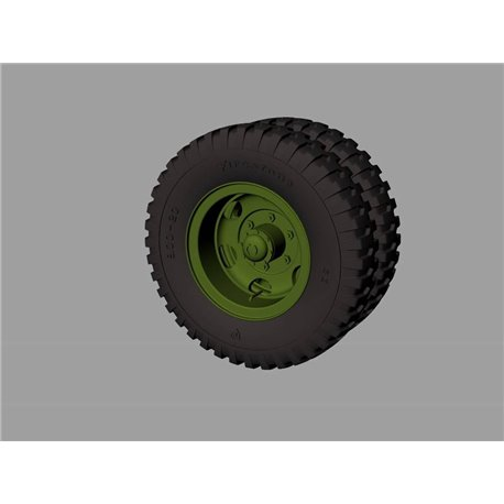 PANZER ART RE35-530 1/35 M35&M109 trucks Road wheels (Firestone)