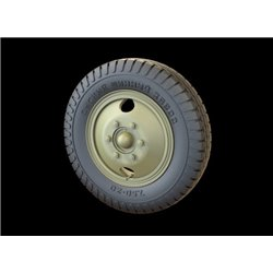 PANZER ART RE35-531 1/35 ZiS-5 Road wheels (Omskij Zavod)