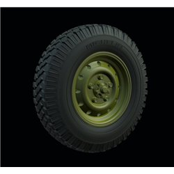 "PANZER ART RE35-541 1/35 Land Rover ""Defender"" Road wheels (Michelin)"