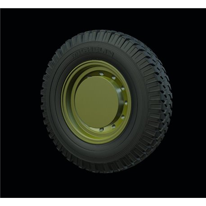 "PANZER ART RE35-541 1/35 Land Rover ""Defender"" Road wheels (Michelin)"