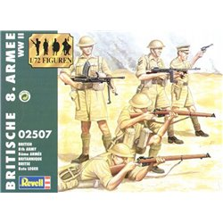 Revell 02507 1/72 British 8th Army