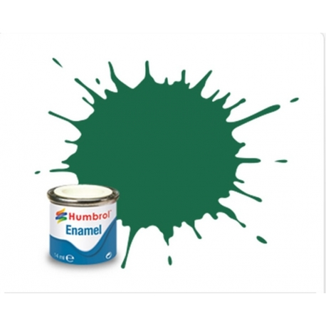 HUMBROL Peinture Enamel 30 DARK GREEN 14ml MATT
