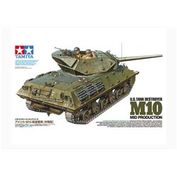 Tamiya 35350 1/35 U.S. Tank Destroyer M10 Mid Production