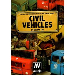 Vallejo 75.012 Book Civil Vehicles En Anglais