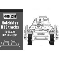 "Hobby Boss 81003 1/35 ""Hotchkiss"" H39 tank tracks​"