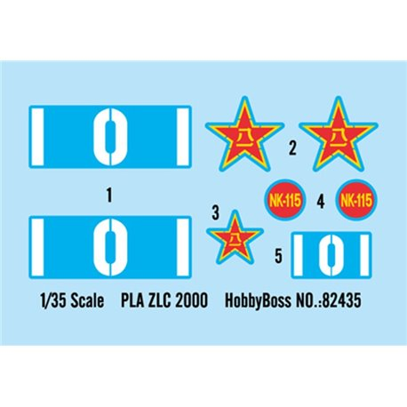 Hobby Boss 82435 1/35 PLA ZLC2000 [C&C] Chinese