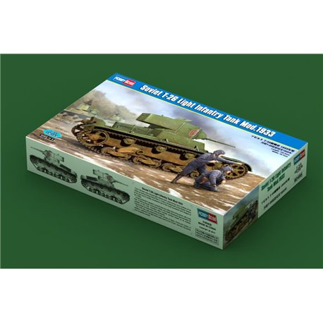 Hobby Boss 82495 1/35 Soviet T-26 Light Infantry Tank Mod.1933
