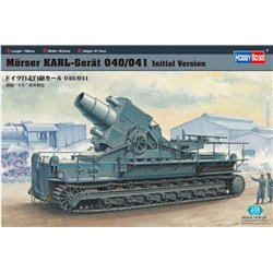 Hobby Boss 82904 1/72 Morser KARL- Geraet 040/041 initial chassis