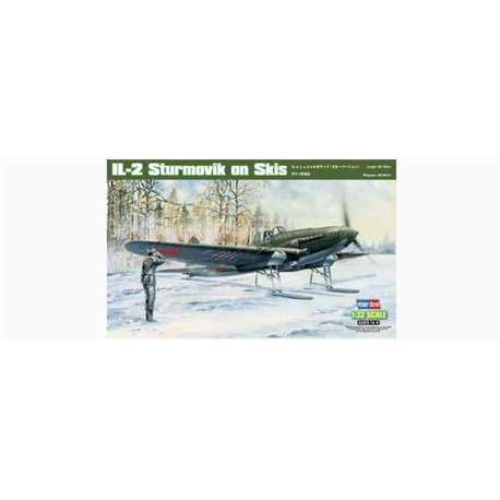 Hobby Boss 83202 1/32 IL-2 Stormovik on Skis