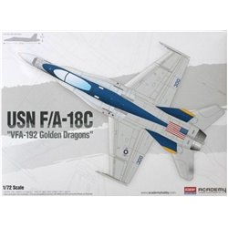 Academy 12564 1/72 USN F/A-18C VFA-192 Golden Dragons